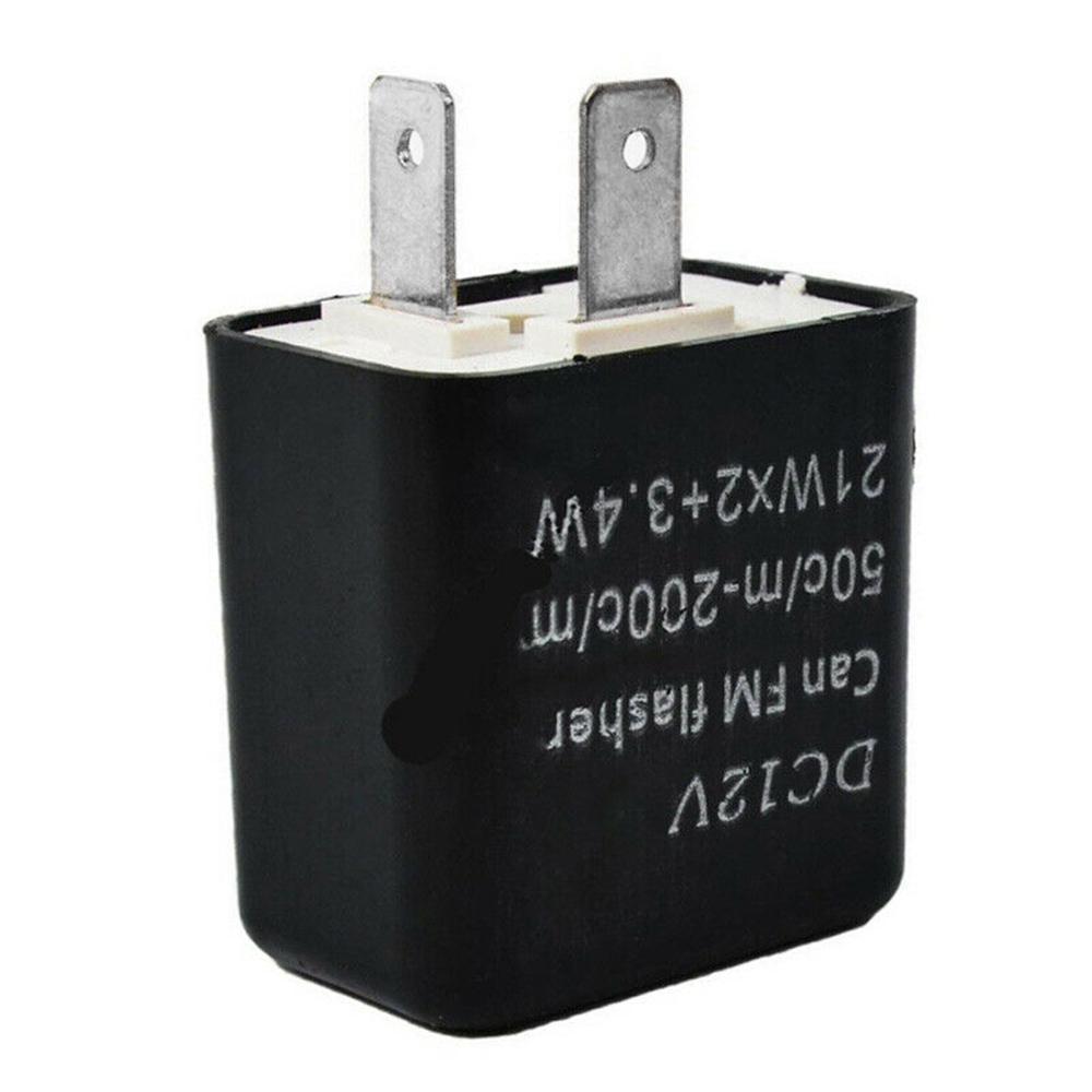Relay LED Indicator Resistor 40 Pin For Motorbike Black/Orange DC 140V