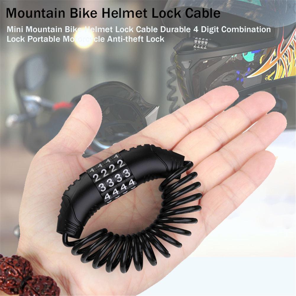 Motorcycle Helmet Lock Soft And Durable Bike Helmet Lock Small And Lightweight