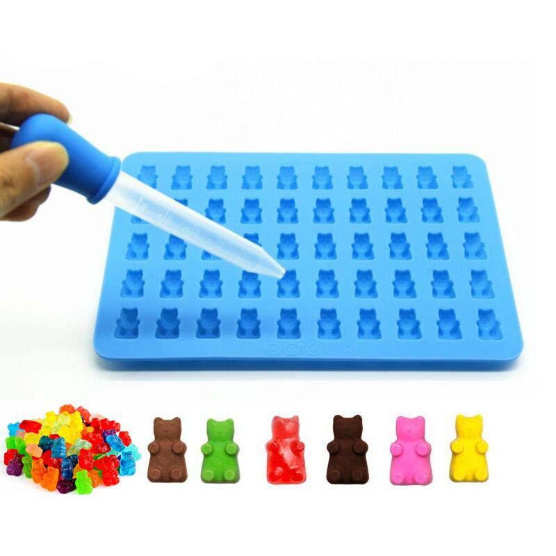 Lego seguro Forma Molde De Silicona Hornear Bandeja Chocolate Cubitos de Hielo Fiesta Barbacoa