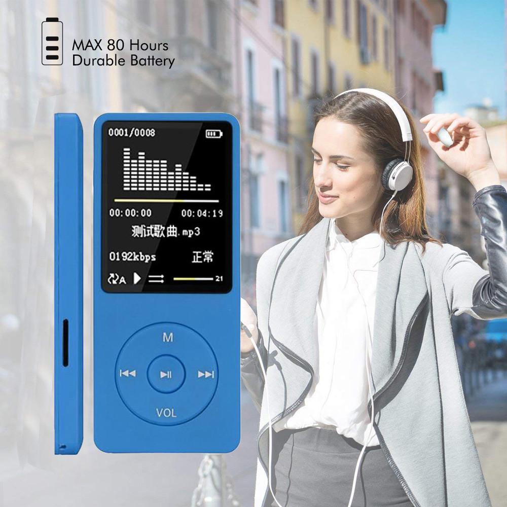 2018 Portable 32GB MP3//MP4 Player LCD Screen FM Radio Video Games Movie