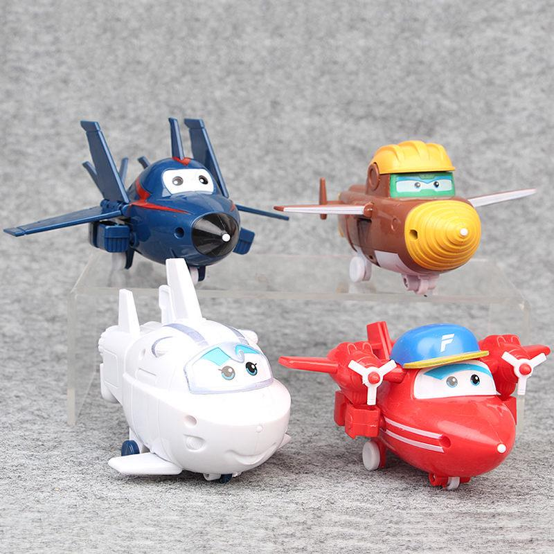 Kids Animation Toy Super Wings Roy Luggage Car Model Children Gift Playset