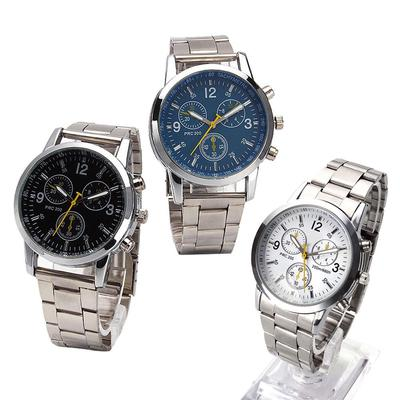High-Grade Stainless Steel Band Watch Business Watch With Delicate Quartz Dial Wrist Watch