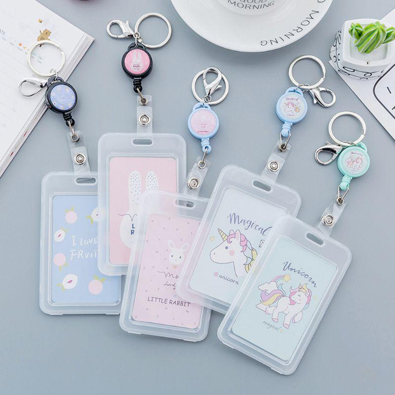 Name Card School Work Card Holders Badge Holder Protective Cover Business Case
