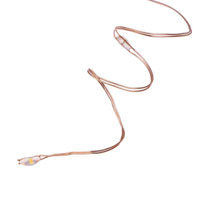 USB-10M 100 LED Weihnachten Kupfer Draht String Lichterkette mit 8 ...