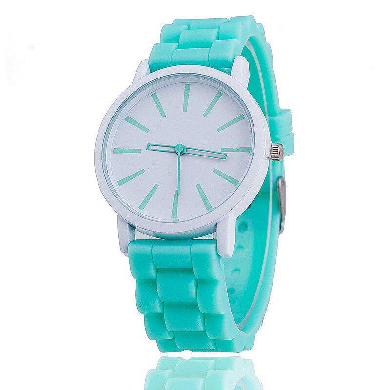Мода женщин силиконовые часы горячие случайных кварцевые дамы наручные Relogio Feminino подарок