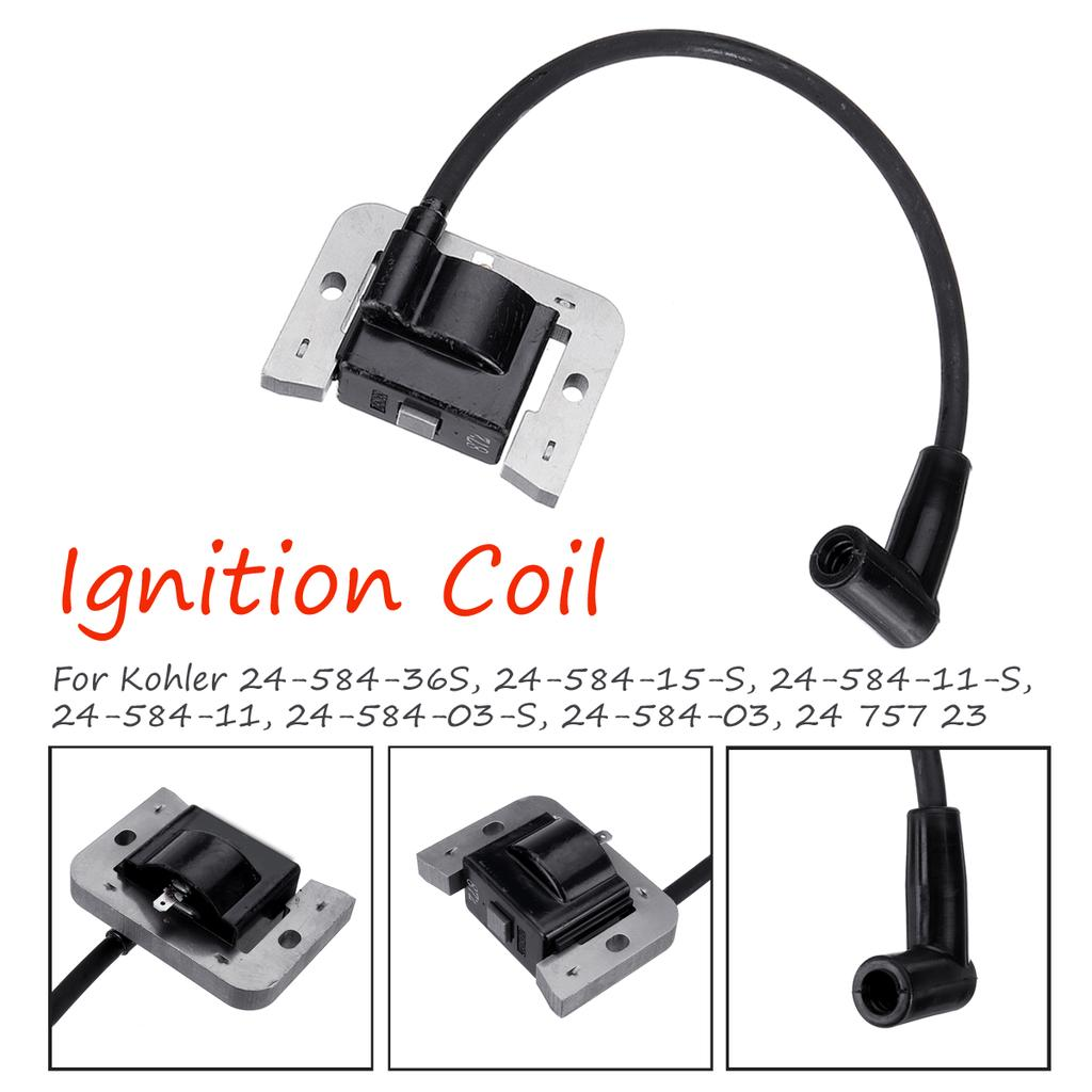 New Ignition Coil Fits Kohler CH22 CV22 CH25 CV25 Replaces 24 584 11 24 584 36-S