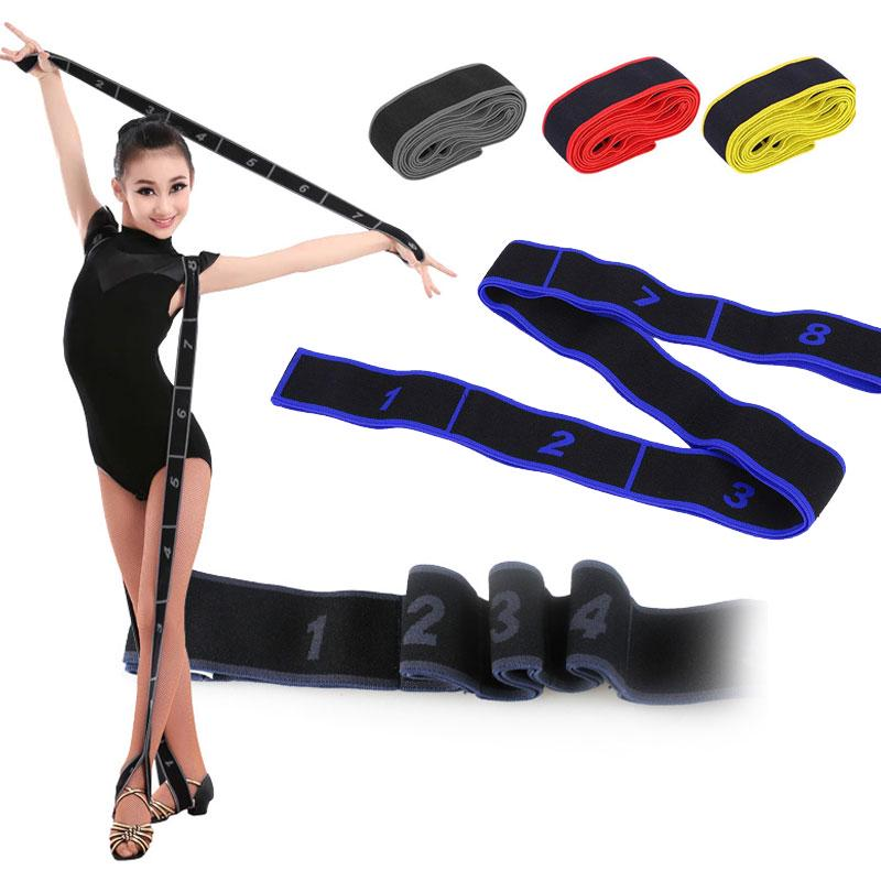 Yoga Resistance Band Dance Elastic Stretch Belt Fitness Exercise Pull Strap Tool