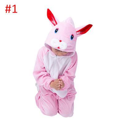 Зимой Новогоднее пижамы моды девочек мультфильм животных с капюшоном пижамы  мальчик Onesie пижамы детские. Купить · -66 % 6319ea43dbafc