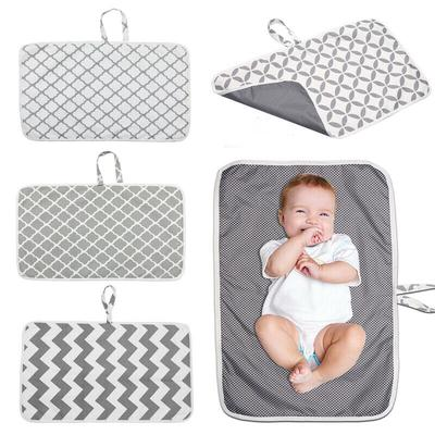 Baby Waterproof Portable Foldable Travel Diaper Changing Mat Back Pad Bag Nappy