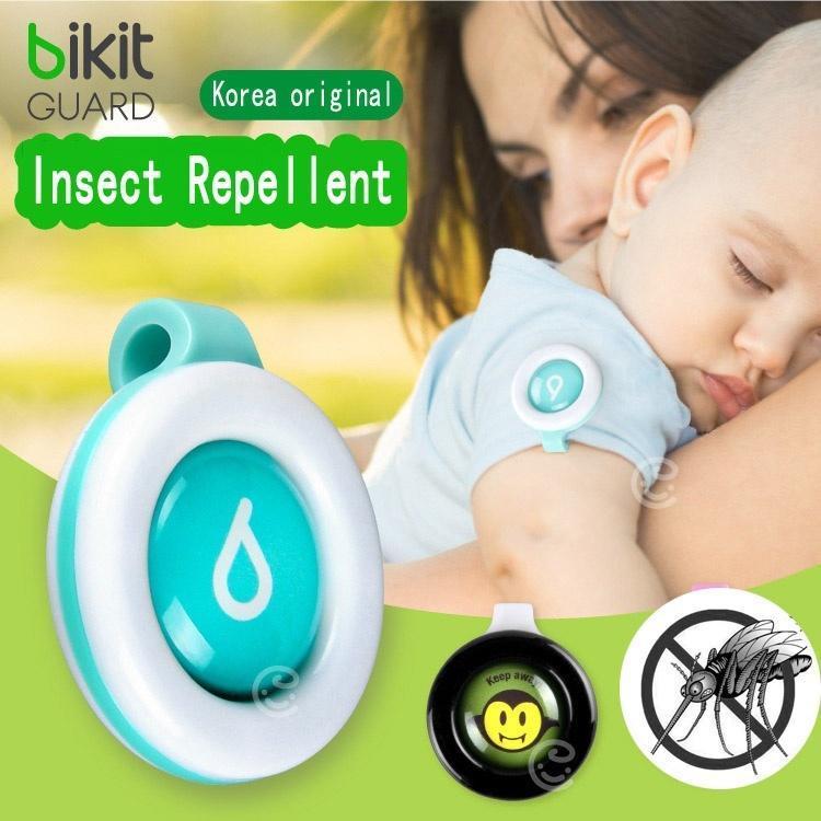 Портативный зажим-репеллент для защиты младенца от комаров и насекомых на открытом воздухе фото