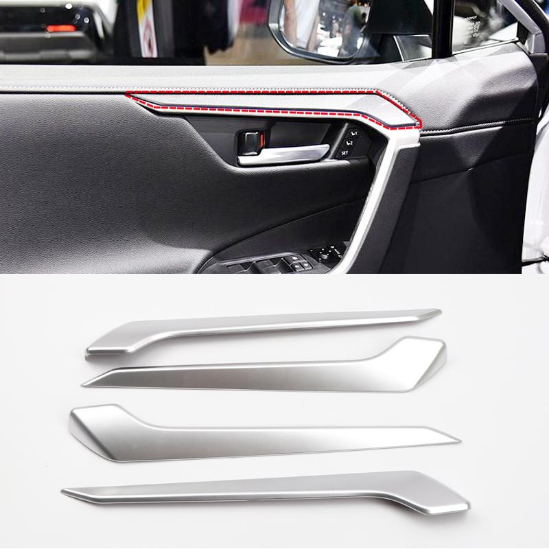 2* Inner Front Side Air Vent Outlet Opeing Cover Trim For TOYOTA RAV4 2013-2017