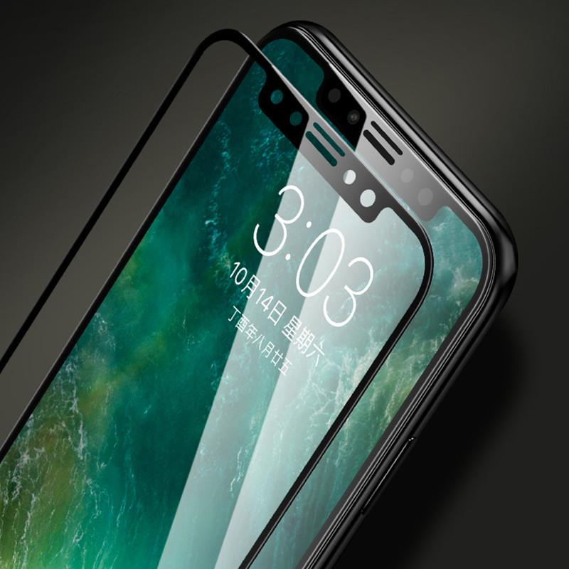 Полное покрытие 2.5D HD закаленное стекло протектор экрана для iPhone Samsung Huawei Xiaomi ect фото
