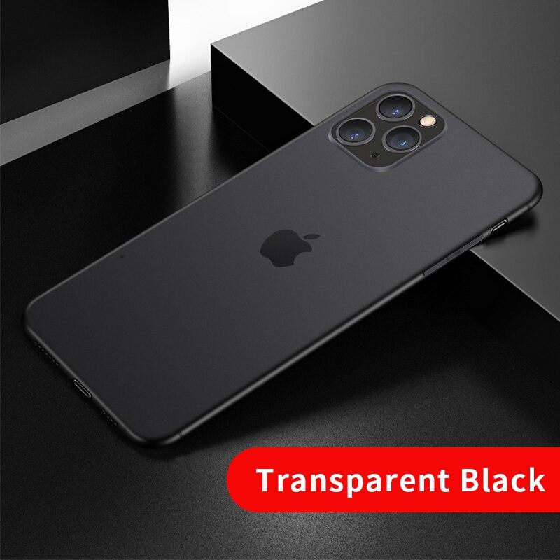 0.4mm Luxury Phone for IPhone 12 Pro Max Ultra Thin Transparent Back Case for IPhone 11 XS MAX XR X Full Protection Cover