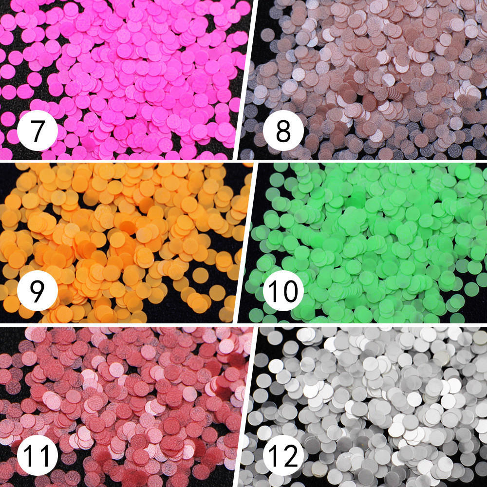 Brillo Color caramelo lentejuelas Nail 3D arte de uñas UV Gel de ...