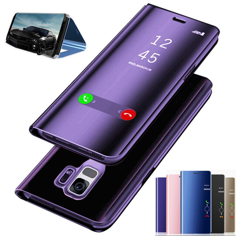 Luxury Smart Clear View Mirror Wallet Leather Flip Stand Case Cover for iPhone Samsung Huawei Xiaomi-buy at a low prices on Joom e-commerce platform