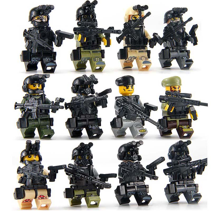 SWAT Military Army WW2 Helicopter Navy Seals Forces Team Soldier