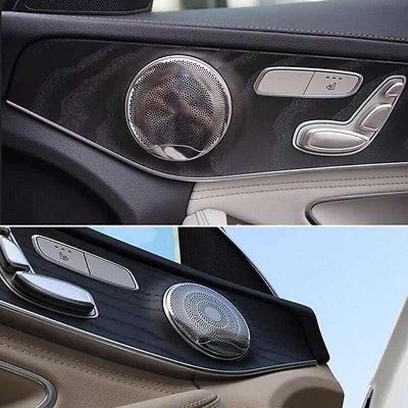 New Door Burmester Audio Speaker Sound AMG Style Trim Cover For Benz W205 W213 S