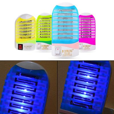 LED Socket Electric Mosquito Fly Bug Insect Trap Night Lamp Killer Zapper