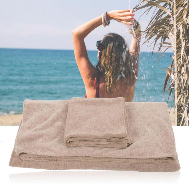 Outdoro charred bamboo microfiber towel beach towel sauna towel for travel and fitness ultra-light and absorbent bath towel comfortable travel towel ideal sport hand towel