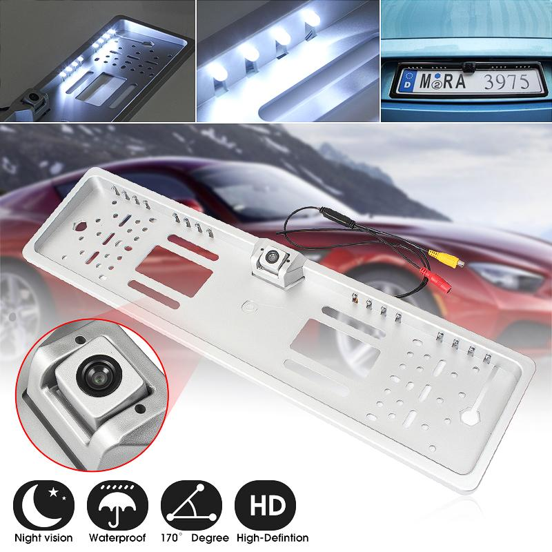Careful 7 Led Night Vision Car Rear View Reverse Backup Parking Camera Cmos Waterproof Car Video Exterior