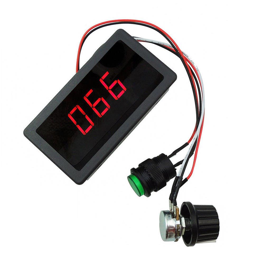 CCM5D Digitalanzeige LED 6V 12V 24V PWM Motorsteuerung Geschwindigkeitsregl