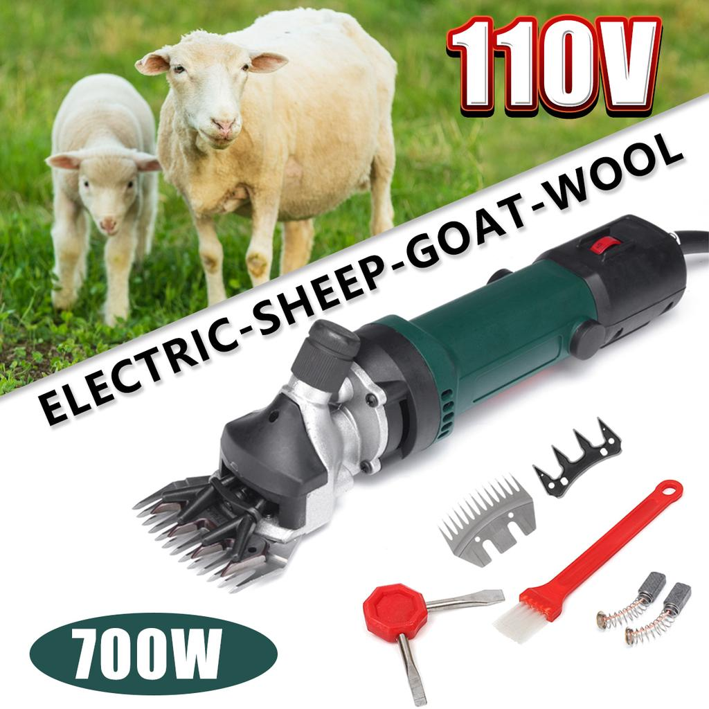 US Electric 500W AC 220V Sheep Shearing Sets for Goat Clipper Shear Alpaca