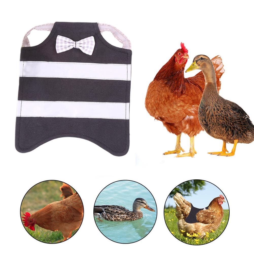 Chicken Saddle Apron Hen Jacket Back Feather Protector Backyard Poultry Supplies