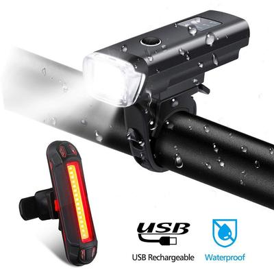 dbfcd35ba BELIVE Bicicleta Luz LED Luz Set Sensor Inteligente Luces Delanteras Lámpara  de Bicicleta