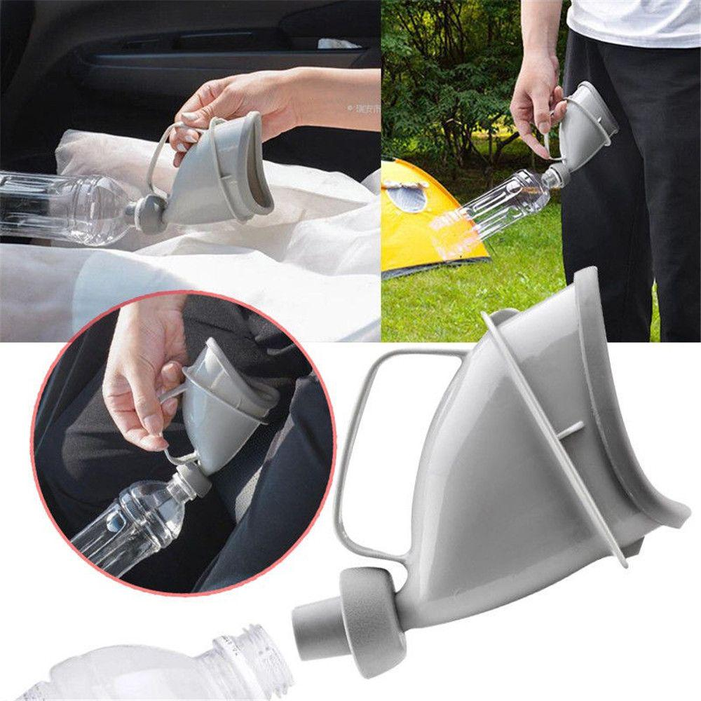 Unisex Female Male Reusable Portable Urinal Device Travel Mobile Toilet Camping Pee Urinal Outdoor Emergency Sitting Standing Urination