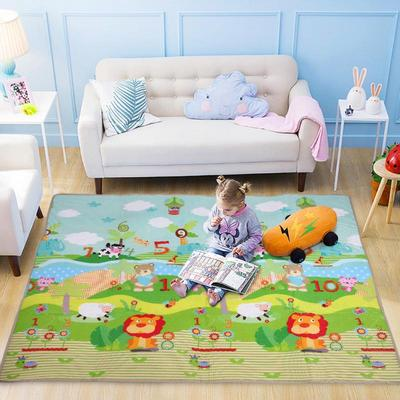 Baby Double-Sided Crawling Game Pad Infant Living Room Environmental Non-Slip Odorless Waterproof Childrens Floor Mat