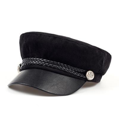 Fashion Woman Men Winter Berets Hat Corduroy Newsboy Hat British Style Beret Sun Hat Flat Hat Caps