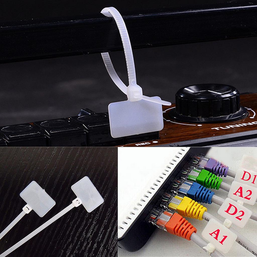 240 Self Clamping Cable Strap Tie Mount Wire Black Nylon Auto Car Clip 150mm*3mm