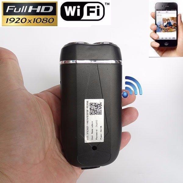 Full 1080P HD Spy Hidden Camera Electric Shaver WIFI DV DVR Video Recorder Cam