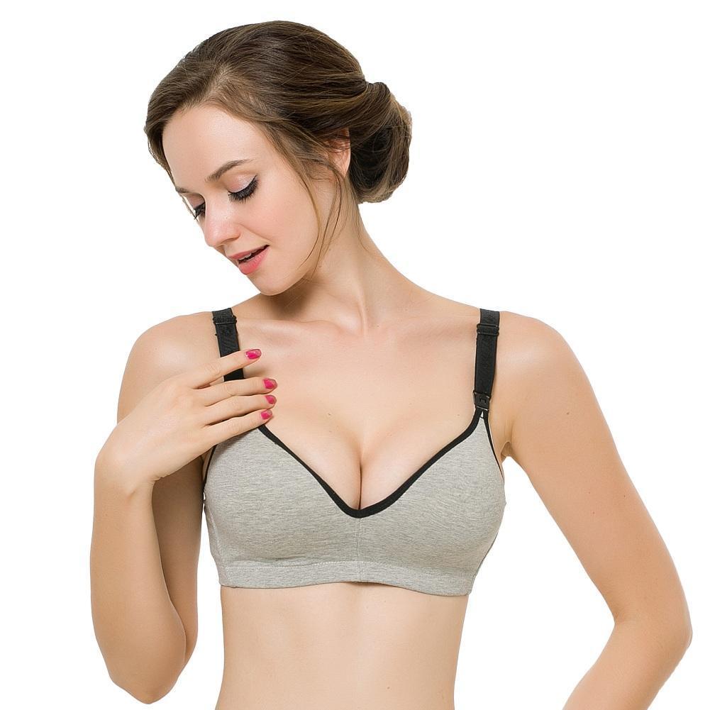 efe211904b9 Women Maternity wireless Seamless Push Up Breastfeeding Nursing Bra-buy at  a low prices on Joom e-commerce platform