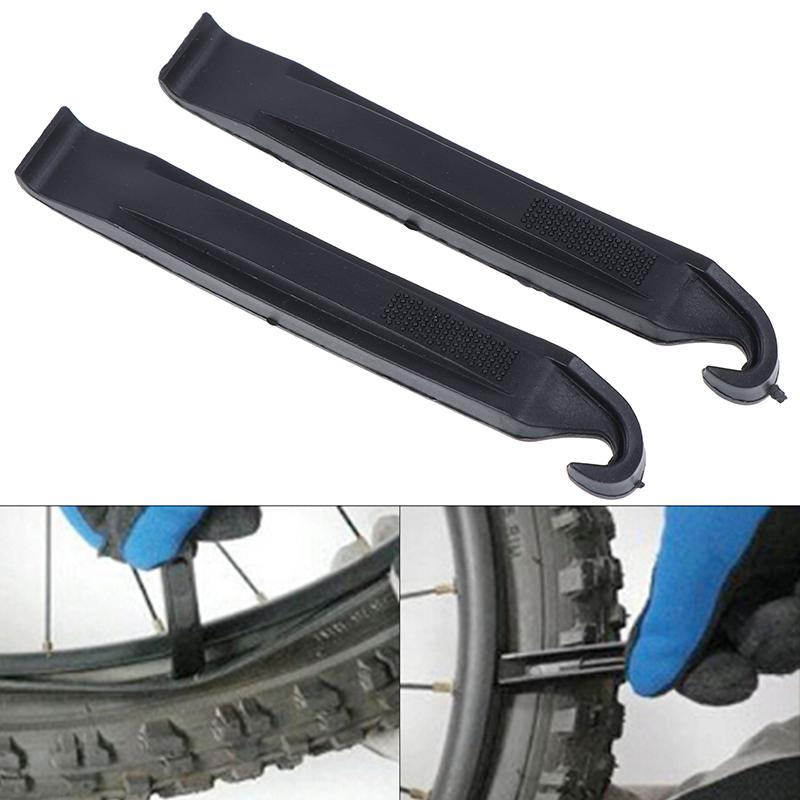 2Pcs Universal Bike Tire Iron Spoon Bicycle Bicycle Pry Bars Tire Lever Tool