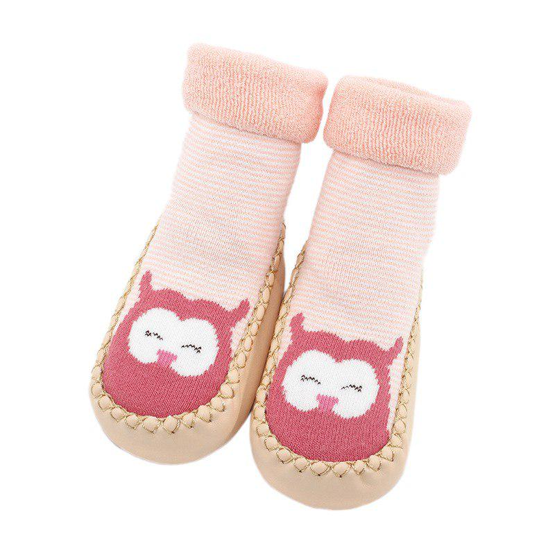 3 Pairs Unisex Baby Socks Anti Slip Short Dress Socks Children Cotton Crew Sock Elasticity Socks for Outdoor Indoor L