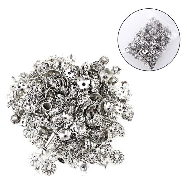 Tibetan Wing Beads 4 x 14mm Antique Silver 50 Pcs Art Hobby Jewellery Making