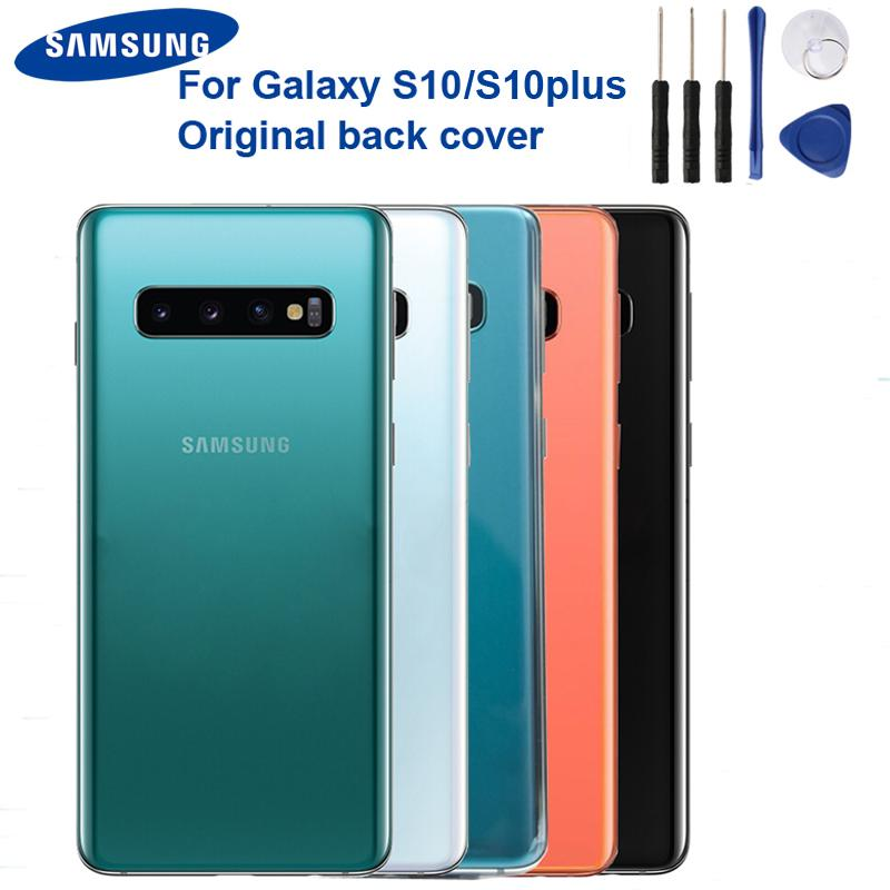 Original Battery Back Cover Glass Rear Housing For Samsung Galaxy S10 X Sm G9730 S10 Plus Sm G9750 Buy From 10 On Joom E Commerce Platform