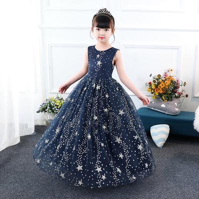 9d1f8775c NIÑO a adolescente lujo niña vestido Reina princesa de hadas bordadas con  cuentas flor falda niño fiesta boda