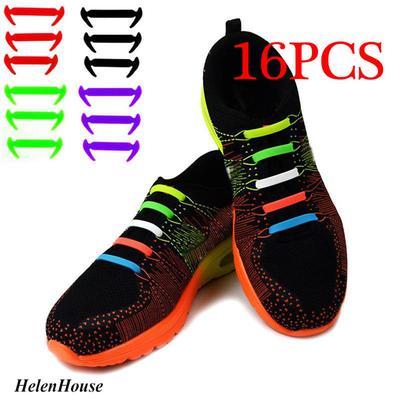 Fashion No Tie Shoelaces Elastic