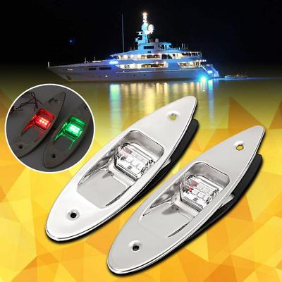 LED Stern Light 8-30V All Round Stainless Tubing Boat Yacht Marine