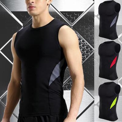 Men/'s Basic Long Length Curved Hem Tank Top  T-shirts Vest Fitness #@