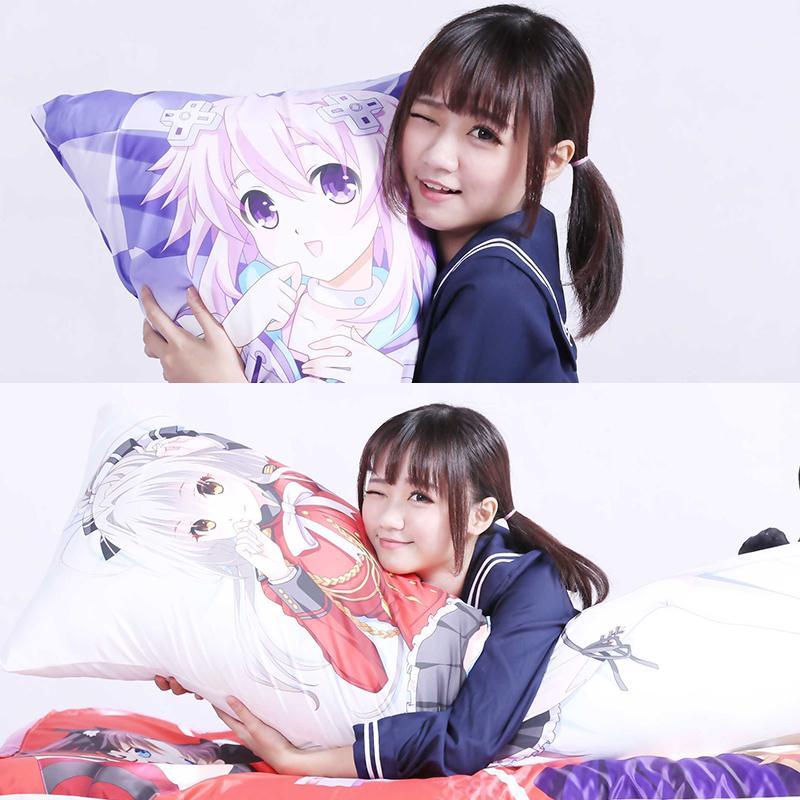 DARLING in the FRANXX Zero Two 002 Anime Dakimakura Hugging Body Pillow Case D