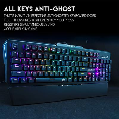 Gaming Keyboard Professional USB Colorful Backlight Water Resistant