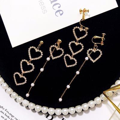 LUFA Femmes Filles Oval Feuilles Alliage Crochet Goujons doreilles.
