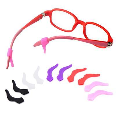 6762865a6a4b 1 Pair Sports Silicone Ear Grip Holder Eyeglass Glasses Sunglass Anti Slip  Hooks