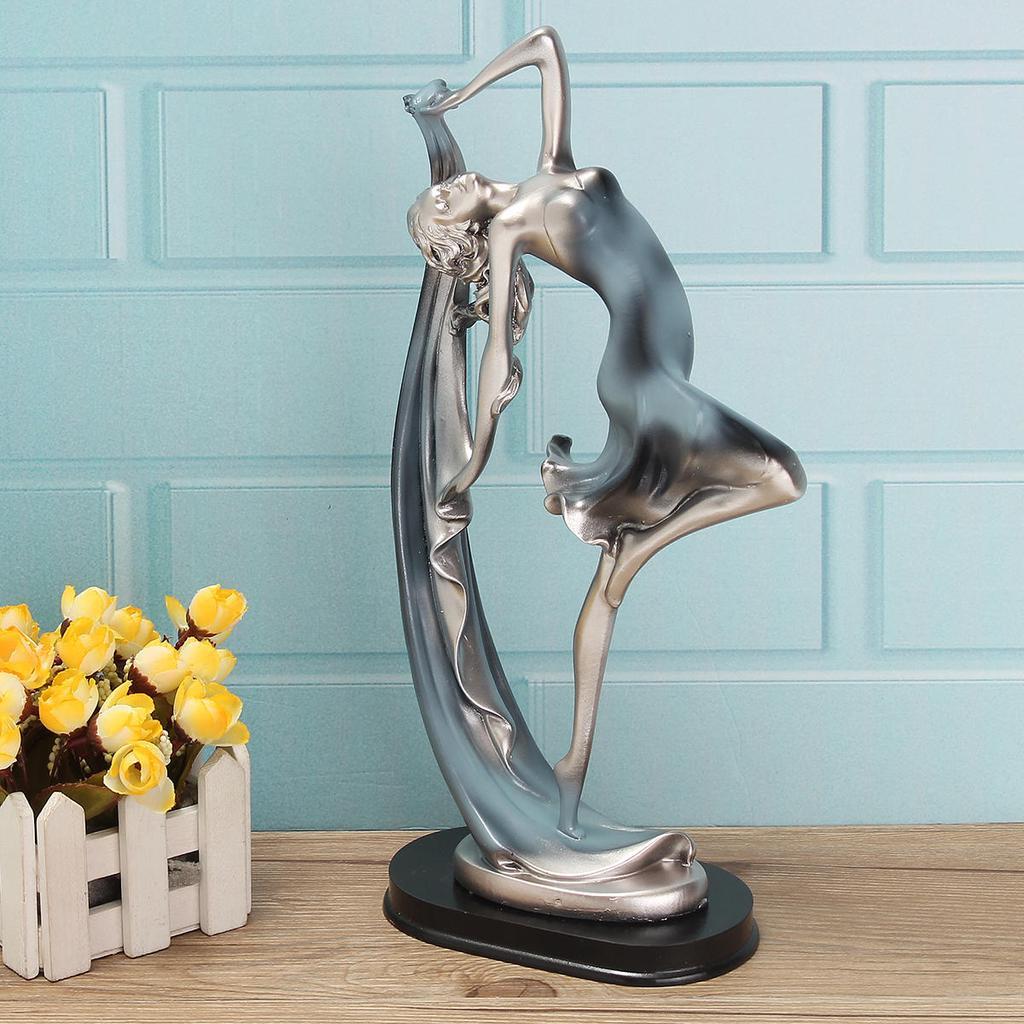 Resin Statue Dancing Dancer Figurine Ballerina Ballet Girl Sculpture Home Desktop Decor Buy From 29 On Joom E Commerce Platform