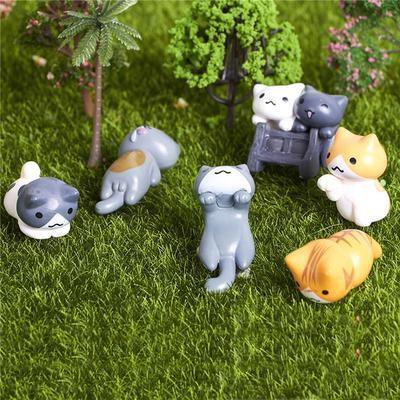 Kunstrasen Falsche Rasen Gras Miniatur Puppenhaus Dekor Garten Ornament Anhänger