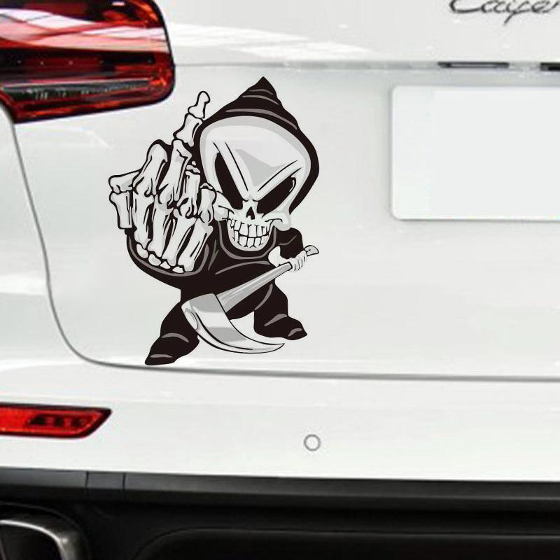 Off Road Vehicle Three Finger Hand Wave Car Window Vinyl Decal Sticker