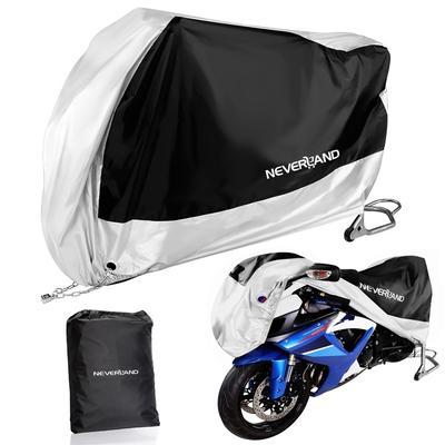 XXL Motorcycle Motorbike Cover Heavy Duty Waterproof Anti UV Lock Hole Protector